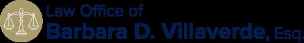 Law Office of Barbara D. Villaverde, Esq. Header Logo